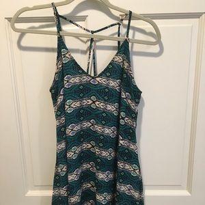 LUSH green patterned sundress